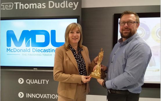 McDonald Die Casting Ltd 2018 Award Winners