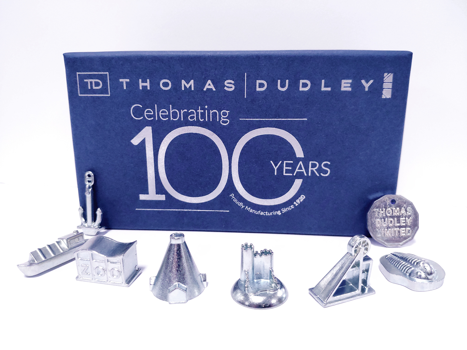 Thomas Dudley 100 Years Game Tokens